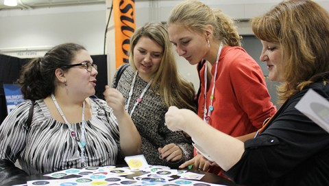 Walsworth fun at JEA-NSPA convention fun