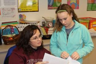Meagan Harris - help of the teacher